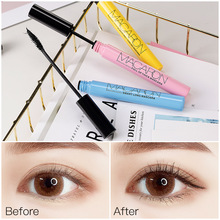 Hot Sale!!! GECOMO Black Mascara Not Dyed Waterproof Sweat Resistant Thick Curling Lengthening Eye Cute Packing 2019 New Arrival
