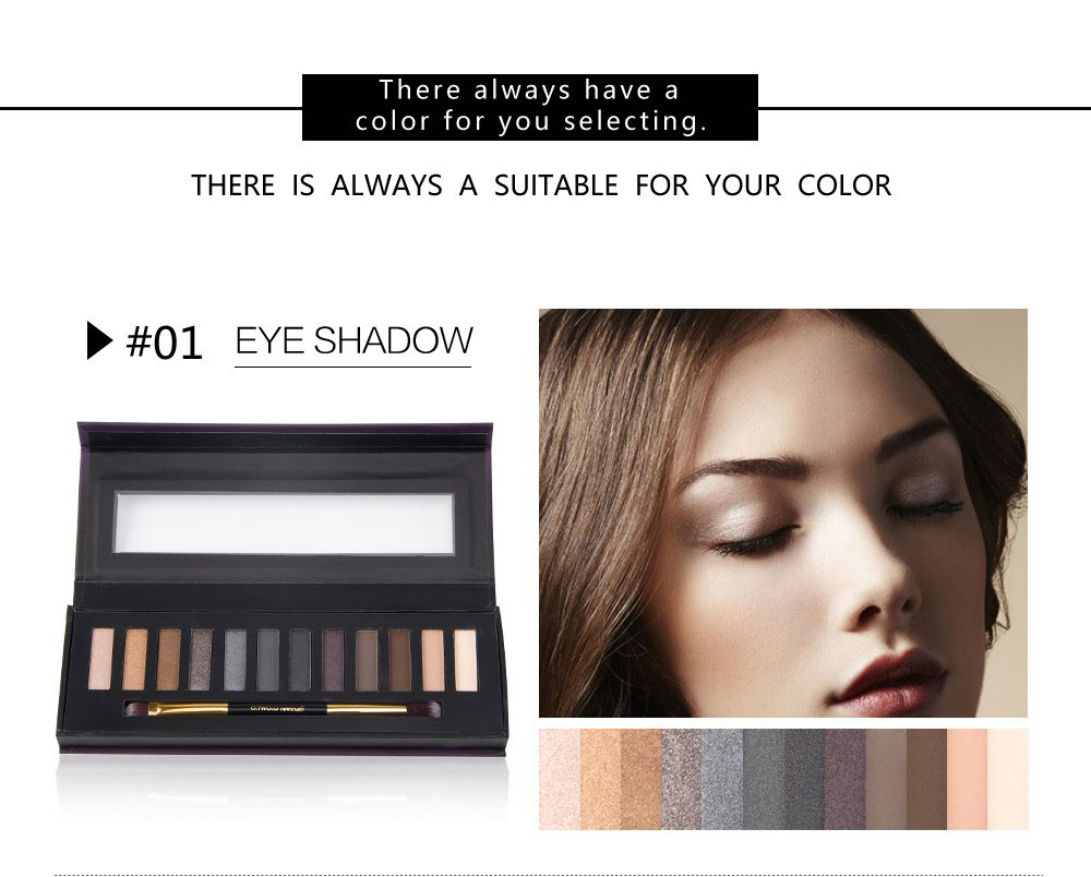 naked fosco ahumado paleta de sombra de ojos maquillaje color de ojos sombra da paleta