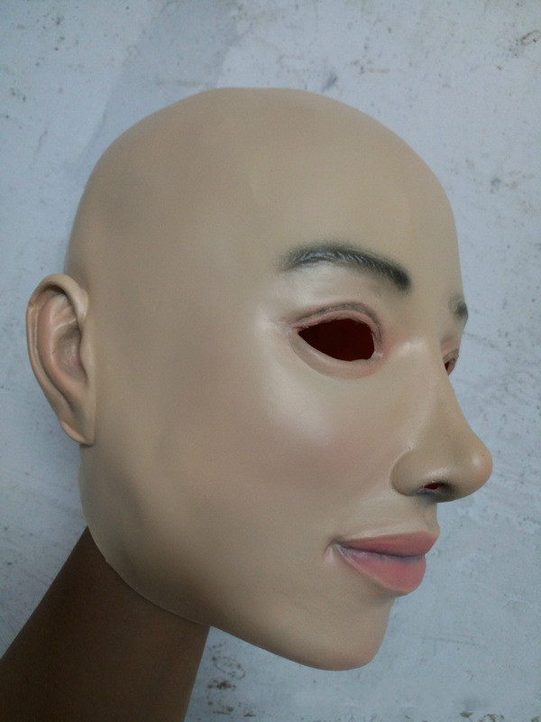 Super Quality Female Latex Mask Masquerade Masks Cosplay Full Face Mask Costume Halloween Mask