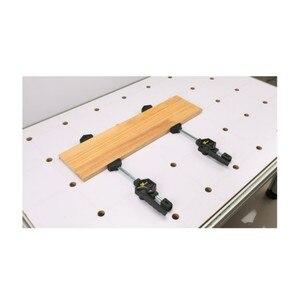 Image 4 - 木工デスクトップクリップ調節可能なフレーム木工高速固定クリップ具木工用ベンチ