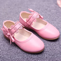 2017 Autumn Children Girls Ballet Shoes Fretwork Ankle Strap Princess Shoes Fancy Toddlers Girls Shoes Party Children's Flats