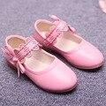 2017 outono crianças meninas ballet shoes fretwork com tira no tornozelo princesa shoes toddlers meninas shoes festa de fantasia das crianças flats