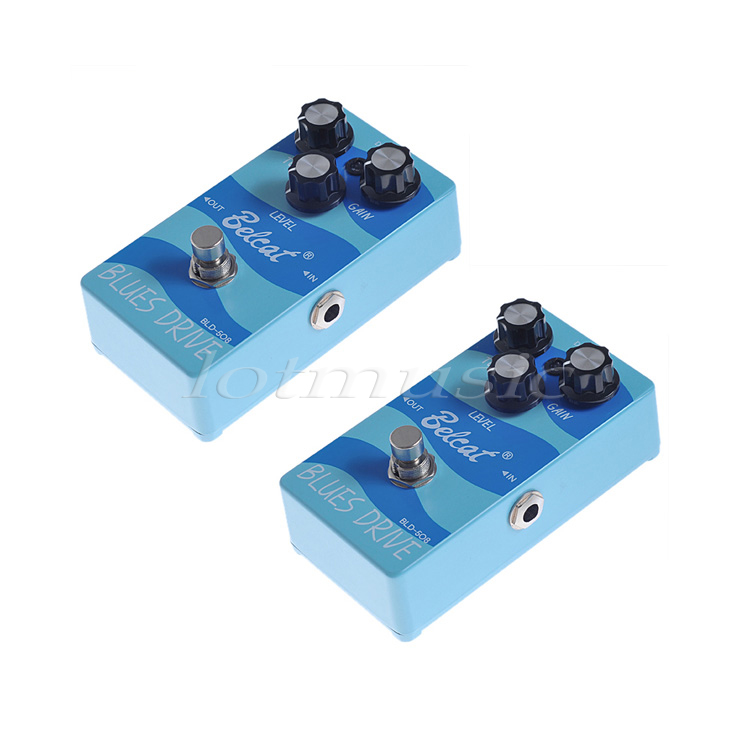 2Set Belcat BLD-508 FX Pedal  Blues Drive Effect Pedal For Electric Guitar Bass Replacement samick mr30fr bld