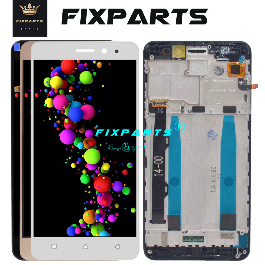 Lenovo K6 Power LCD Display Touch Screen Digitizer Assembly with Frame  K33a42 k33a48 Replacement Tool 5 0