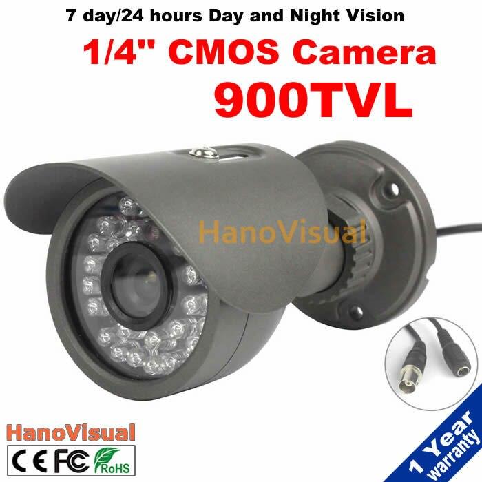 IR CCTV Camera 900TVL 30pcs Infrared Light Leds CMOS CCTV Camera Color Image Waterproof Night Vision IR Surveillance Camera waterproof 981 ntsc cmos cctv camera w 48 ir led night vision purple