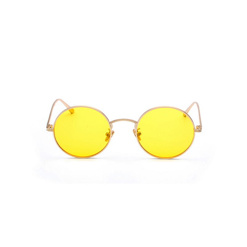 F J4Z Hot Fashion Cool Round Women Goggle Shades Retro Punk Sunglasses Metal Frame Protection Sun Glasses in Women 39 s Sunglasses from Apparel Accessories