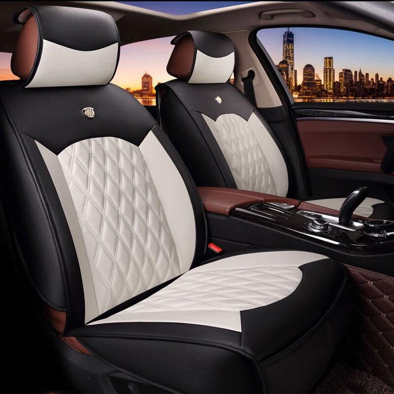Housse de siège Auto intérieur sièges couvre cuir pour mercedes benz classe S w140 w221 GLK 350X204 GLC 300
