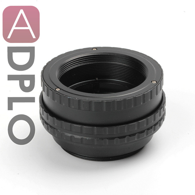 M42 to M42 Mount Lens Adjustable Focusing Helicoid Macro Tube Adapter - 17mm to 31mm