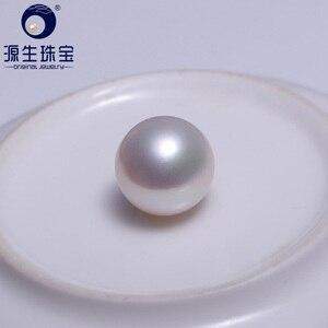 Image 1 - Ys 12 13mm aaaa perfeito redondo alto brilho de água doce pérolas soltas branco edison pérola em solto