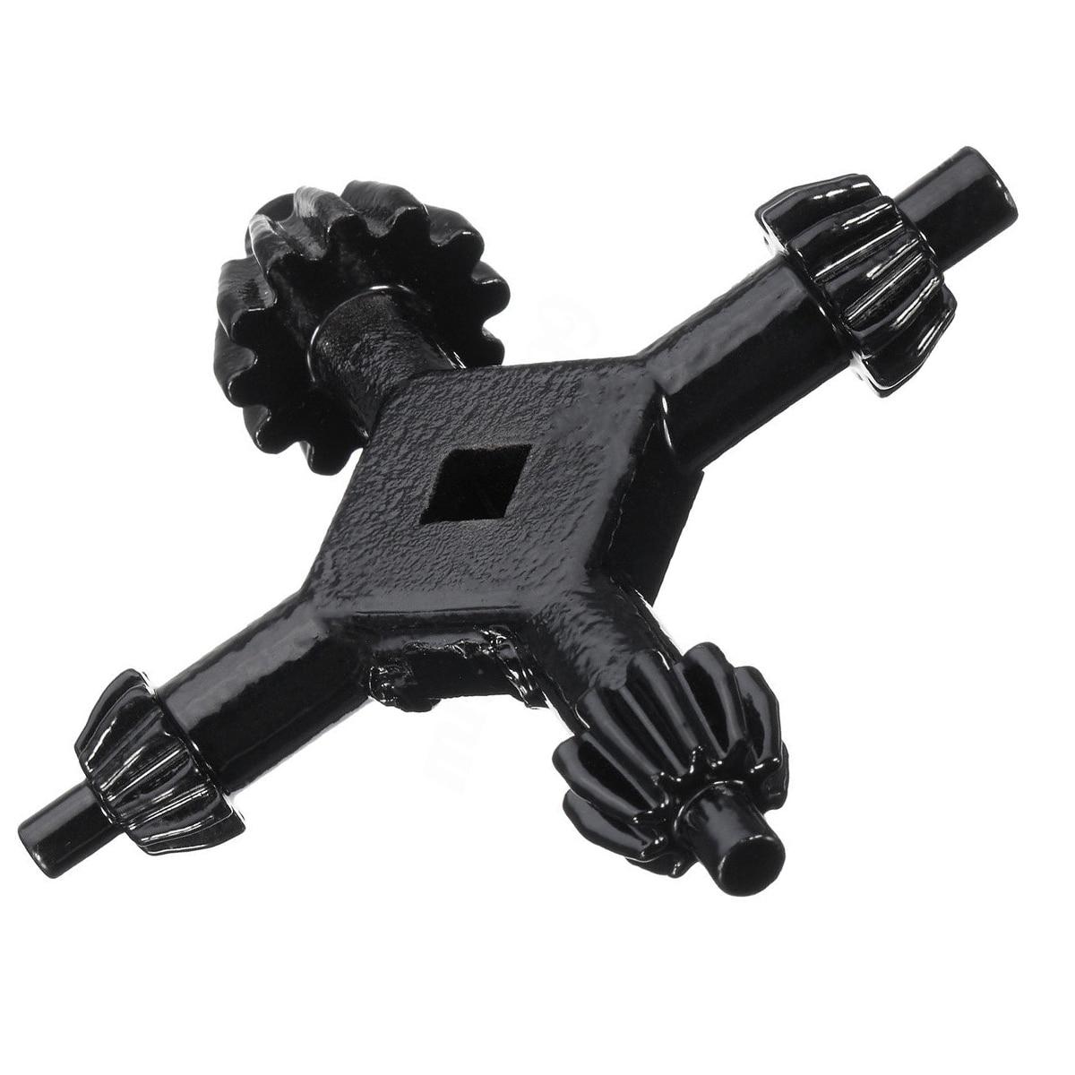 4 Way Drill Press Chuck Key Carbon Steel Combination 1/2