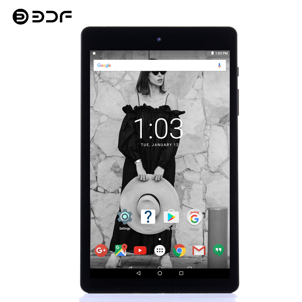 BDF Kids Tablet 8 Inch Tablet Android Laptop Quad Core 1GB 16GB IPS Tablet Pc Android