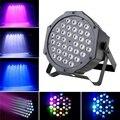 36 LED 108W Flache Par Licht RGB DMX 512 Sound Actived Magische Wirkung Led Bühne 110 220V Disco club Party Licht|Bühnen-Lichteffekt|   -