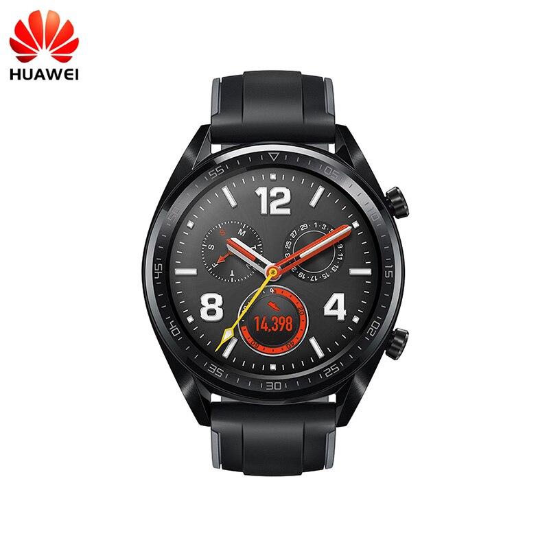 Huawei Orologio GT di Smart Watch Supporto GPS NFC 14 Giorni di Durata Della Batteria 5 ATM Water a prova di Chiamata di Telefono di Frequenza Cardiaca tracker Per Android iOS-in Orologi smart da Elettronica di consumo su AliExpress - 11.11_Doppio 11Giorno dei single 1