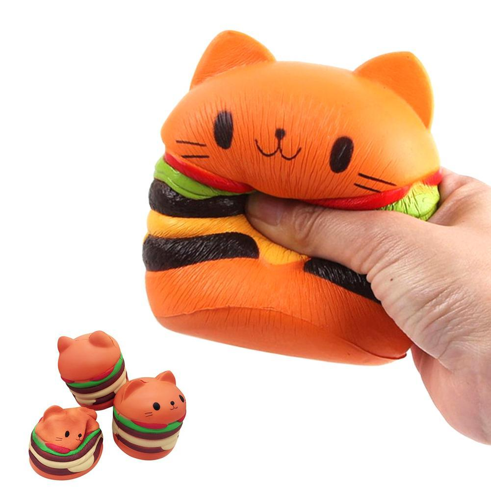 Flight Tracker 10cm Lovely Bun Bread Bunny Squishied Soft Slow Rising Scented Cake Toy Kids Fun Collection Gift Decor Anti-stress Toys Mobile Phone Accessories