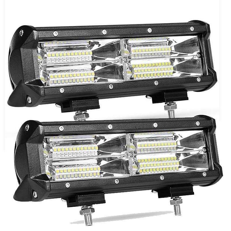 9.5 inch 144W LED Ramp Lightbar 12V 24V ledbar 4x4 Off road Vehicle Truck  Trailer Worklight Car Spotlights Auto Accessories|Light Bar/Work Light| -  AliExpress