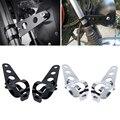 2x Универсальный 33-45 мм Монтажный кронштейн фар мотоцикла вилка уши для поплавок кафе гонщик