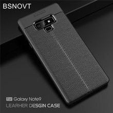 цены на For Samsung Galaxy Note 9 Case Silicone PU Leather Shockproof Phone Case For Samsung Galaxy Note 9 Cover For Samsung Note 9 Case  в интернет-магазинах