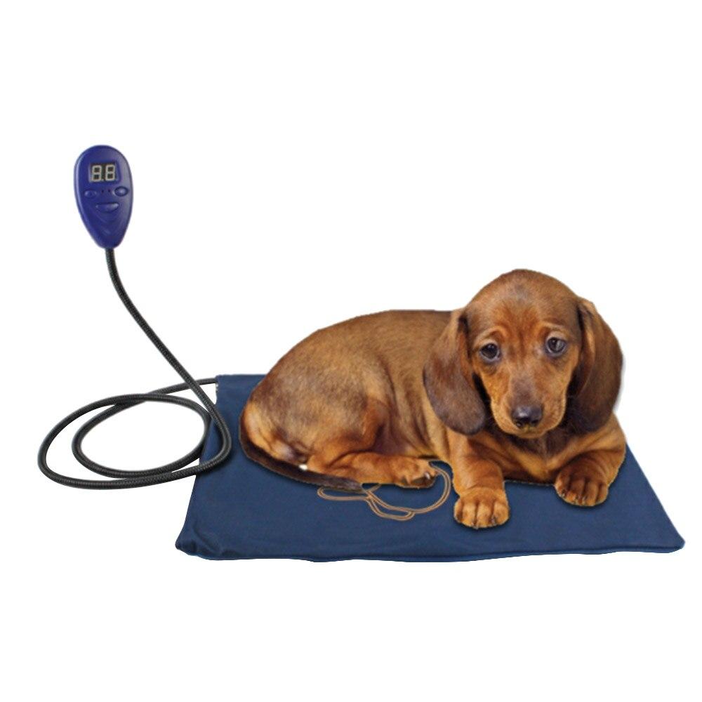 Tapis pour chien 50*50 cm imperméable câble Protection électrique coussin chauffant mâcher cordon résistant pour chat lapin couverture chaude maison nouveau
