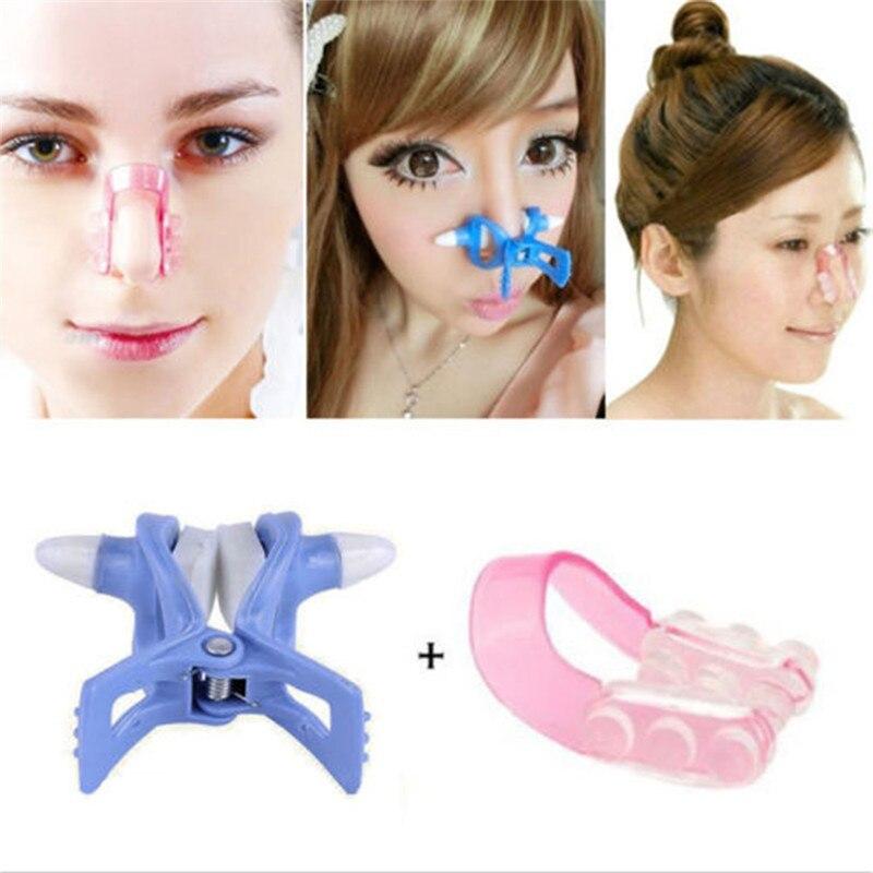 Nose Up Lifter + Nose Bridge Straightener Straightening Beauty Clip Clipper Set Nose Shaping Shaper Lifting Women Beauty Tool стоимость