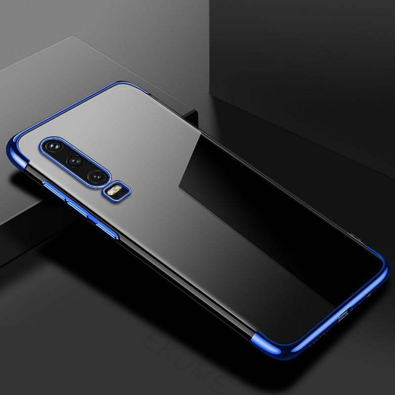 For-Huawei-P30-P20-Lite-P20-Pro-Y7-Y6-Pro-Y9-2019-Case-Soft-Silicone-Plating  UTU