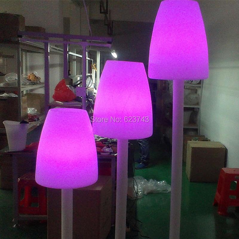 LED Glowing Floor landscape lighting 2