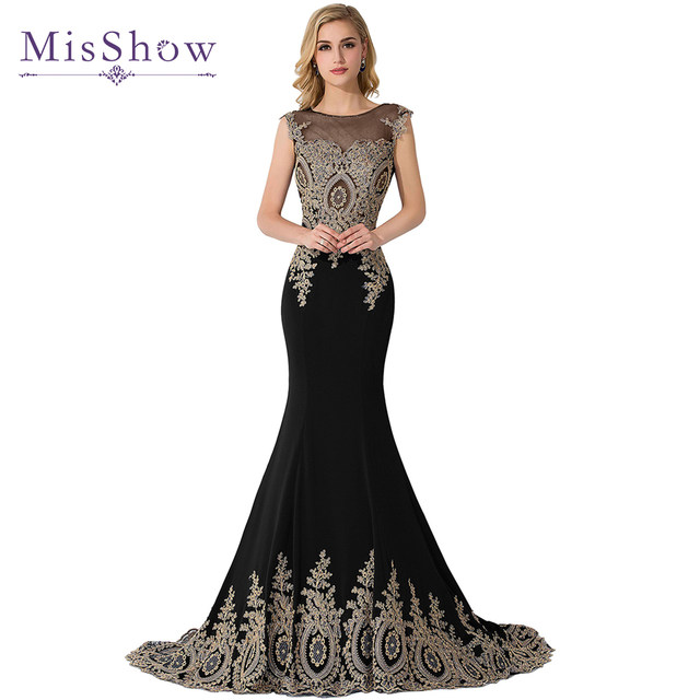 Online Shop Long Mermaid Plus Size Evening Dresses 2018 Dubai Arabic