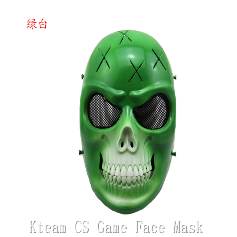 Top Grade résine créative crâne masque Wargame chefs tactique CS Cosplay masque masqué blague drôle Camouflage équitation visage complet masques