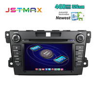 2Din Android 8.0 Fit Mazda CX7 CX 7 2010 2015 Car DVD Player 8Core 4G+32G GPS Navigation Touch Screen WiFi OBD2 Steering Wheel