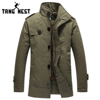 2015 New Fashion Winter Men Thick Long Jacket With Fur High Quality Super Warm Plus Size