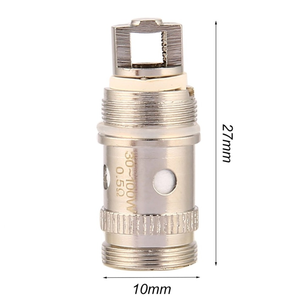 5pcs/Set Atomizer Head Coils EC Hed With Various Resistances Designed For Eleaf Melo 2 / Melo 3 Best Replacement Parts image