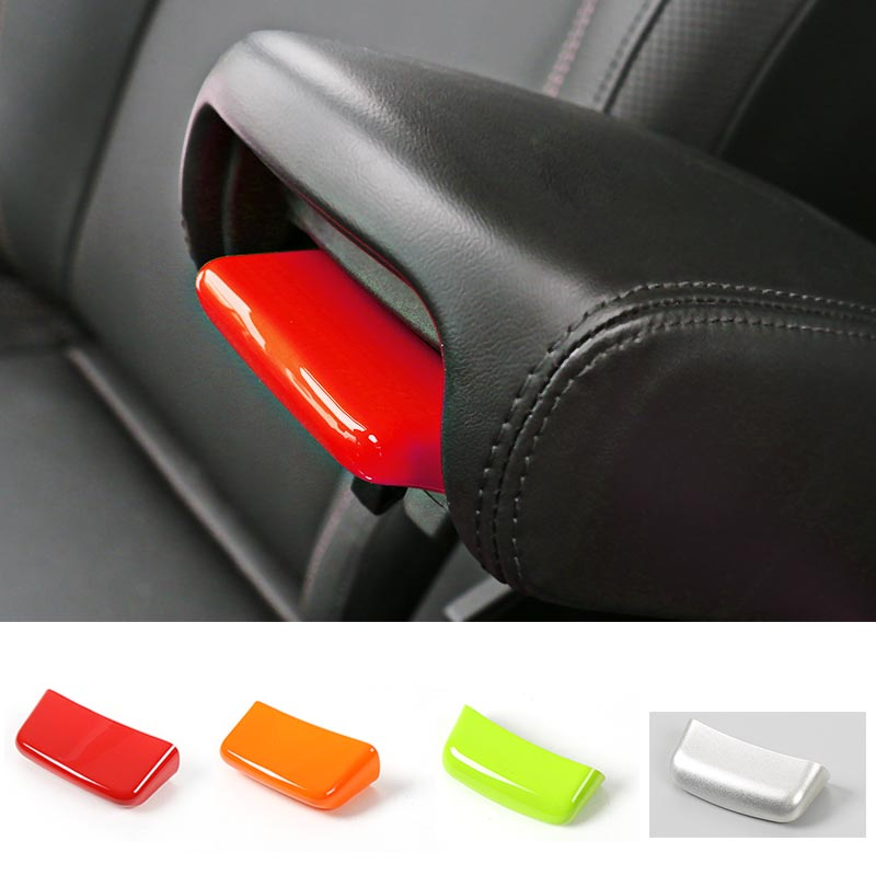 MOPAI Candy Color ABS Interior Armrest Switch Decoration Cover Stickers For Jeep Renegade 2015 Up Car Styling mopai abs car interior gps panel frame