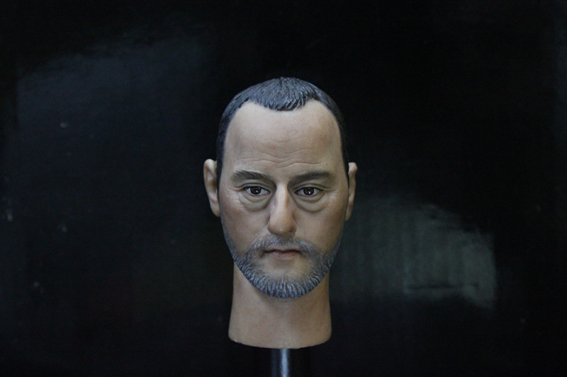 1/6 scale figure doll head shape for 12 action figure doll accessories The Professional Leon Jean Reno male Head carved 1 6 scale figure doll head shape for 12 action figure doll accessories iron man 2 whiplash mickey rourke male head carved