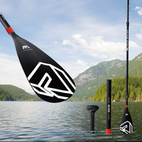 Solid Fiberglass Paddle Adjustable Paddle for Kayak SUP Board Inflatable Boat Stand Up Padding Board B0302769