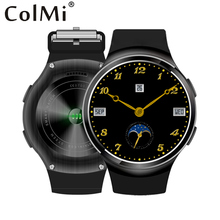 Colmi vs109 smart watch android 5.1 1g ram 8g rom MTK6580M Quad Core GPS WIFI 1.3 polegada IPS Tela 360*360 Smartwatch