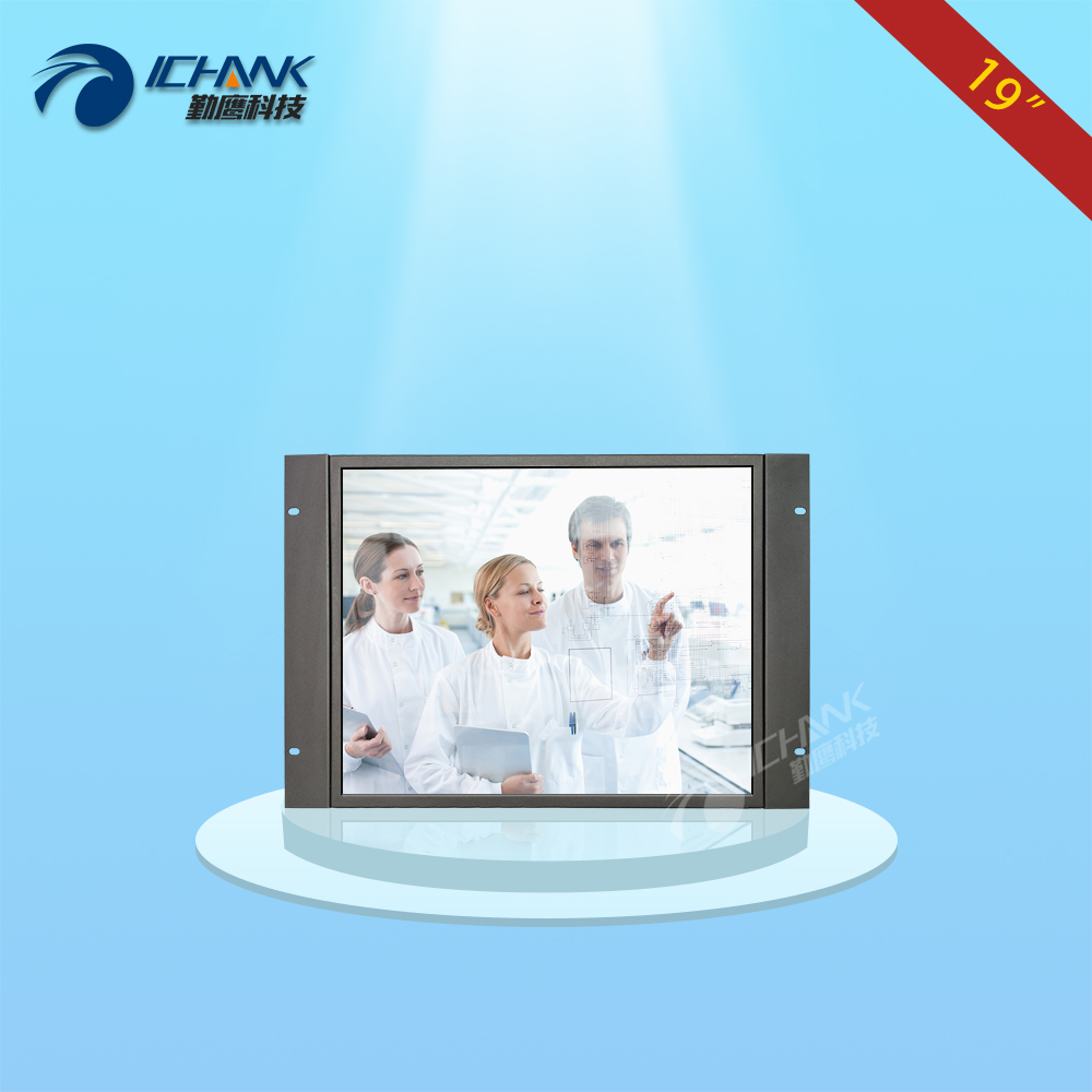 ZK190TC-V591/19 inch 1280x1024 4:3 Standard Screen Metal Shell Embedded&Open Frame&Wall-mounted Touch Monitor LCD Screen Display 19 inch 1280 1024 4 3 standard screen industrial medical pos machine security monitor lcd screen display with metal base