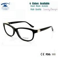 (5 PÇS/LOTE) Atacado Armações de Óculos de Prescrição para As Mulheres Pérola Claro Mulher Óculos De Armações de Óculos de Olho