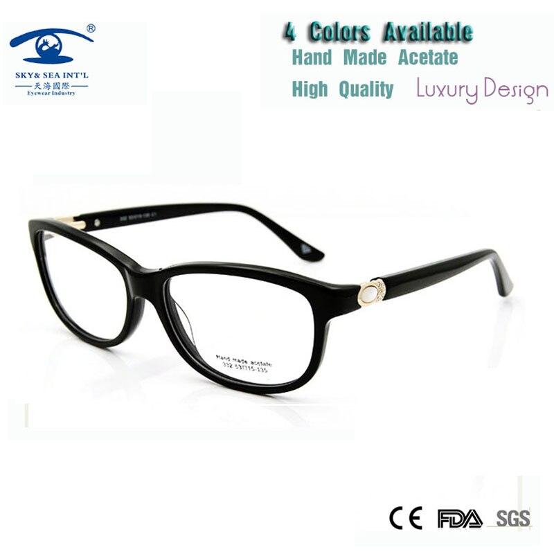 (5 Pz/lotto) Commercio All'ingrosso Di Prescrizione Montature Da Vista Per Le Donne Pearl Sereno Occhiali Donna Occhiali Da Vista Frames Limpid In Sight