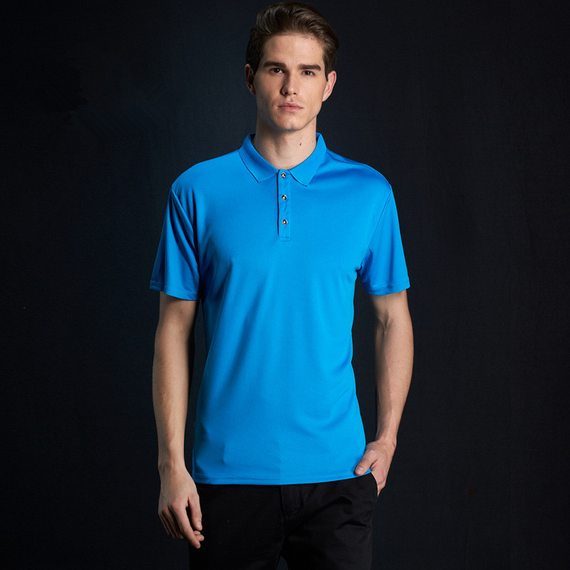 Brand New Men's   Polo   Shirt Brand clothing Men Business & Casual solid male   polo   shirt Short Sleeve breathable   polos   shirts 4XL