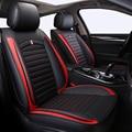 Спереди и сзади из искусственной кожи универсальный авто чехлы подходят Renault Duster Scenic Clio Megane Laguna Espace Sandero сиденья автомобиль