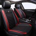 Cubierta de asiento de coche Universal de cuero PU frontal + trasero ajuste Renault Duster escénico Clio Megane Laguna Espace Sandero asiento de coche cubierta de coche