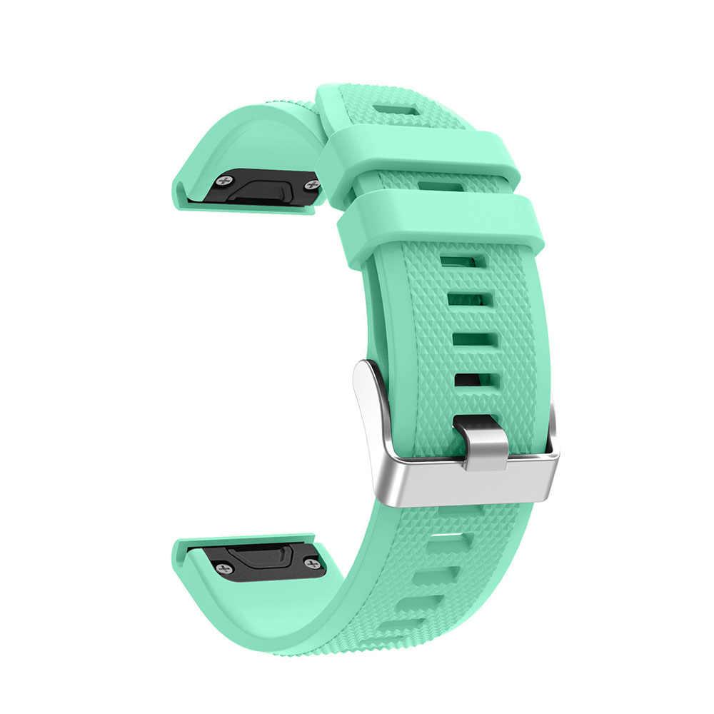 Ремешок для часов Quick Release наручный ремешок из искусственной кожи для Garmin Fenix 5 forerunner 935 gps ремешок для часов с принтом Модный спортивный силиконовый
