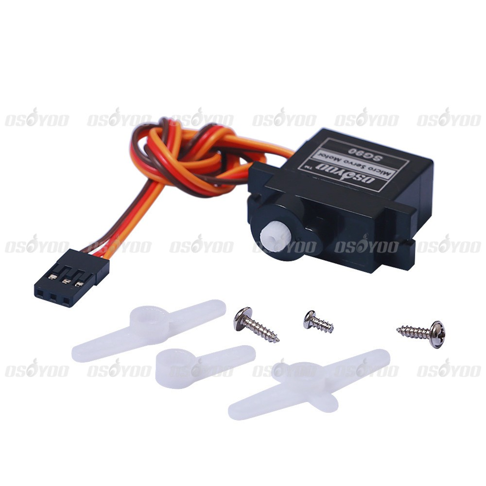 Micro 9G 1 6KG SG90 Servo Motor for RC 250 450 Helicopter Airplane Car Boat  Free Shipping & Drop Shipping-in Demo Board from Computer & Office