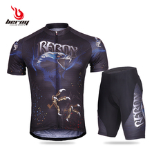 2017 team quick dry cycling jersey shorts Ropa Ciclismo MTB bike clothing breathable bicycle shirt shorts pro cycling wear