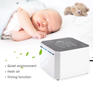 Image 5 - Negative Ion Generator Air Purifier For Home office Active Carbon HEPA Filter Desktop Mini Air Ionizer Compact Air Cleaner