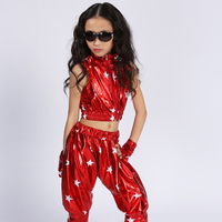 Modern Hip Hop Jazz Dance Suit For Children Performance Dance Wear