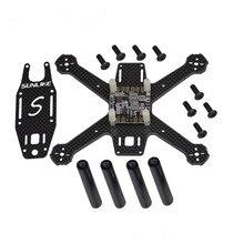 S150A Mini 150mm Frame Kit Super Light 4MM 3K Pure Carbon Fiber DIY Racer Quadcopter with