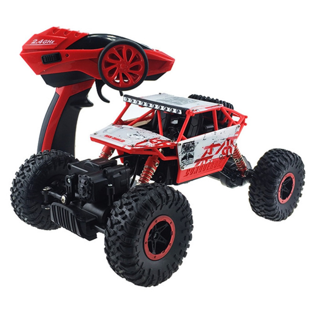 Remote Control Model Off-Road Vehicle Toy RC Car 4WD 2.4GHz Rock Crawlers Rally climbing Car 4x4 1:18 Double Motors Bigfoot Car