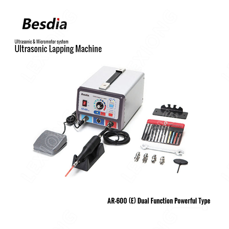 TAIWAN Besdia Ultrasonic & sistema de Máquina de Lapidação Ultra-sônica Micromotor AR-600 (E) com Dupla Função Poderosa Tipo