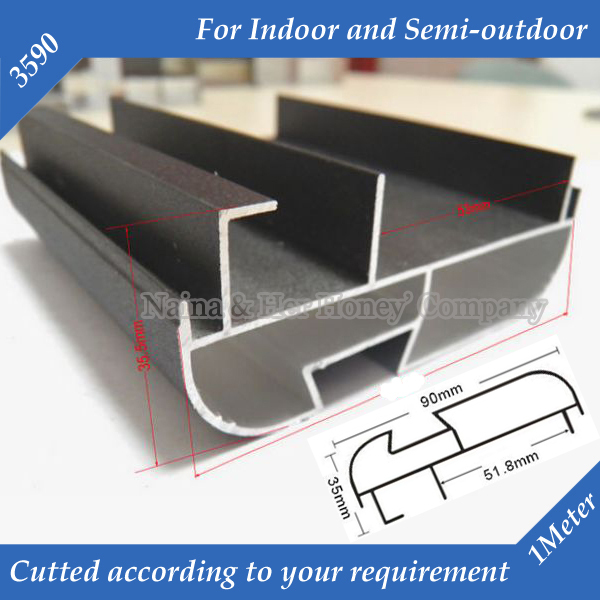 1meter/pc 6meters/lot 3590 Arc Corner LED Display Screen Frame Suit For P7.62,P10 ,P16,P20 Indoor And Semi-outdoor
