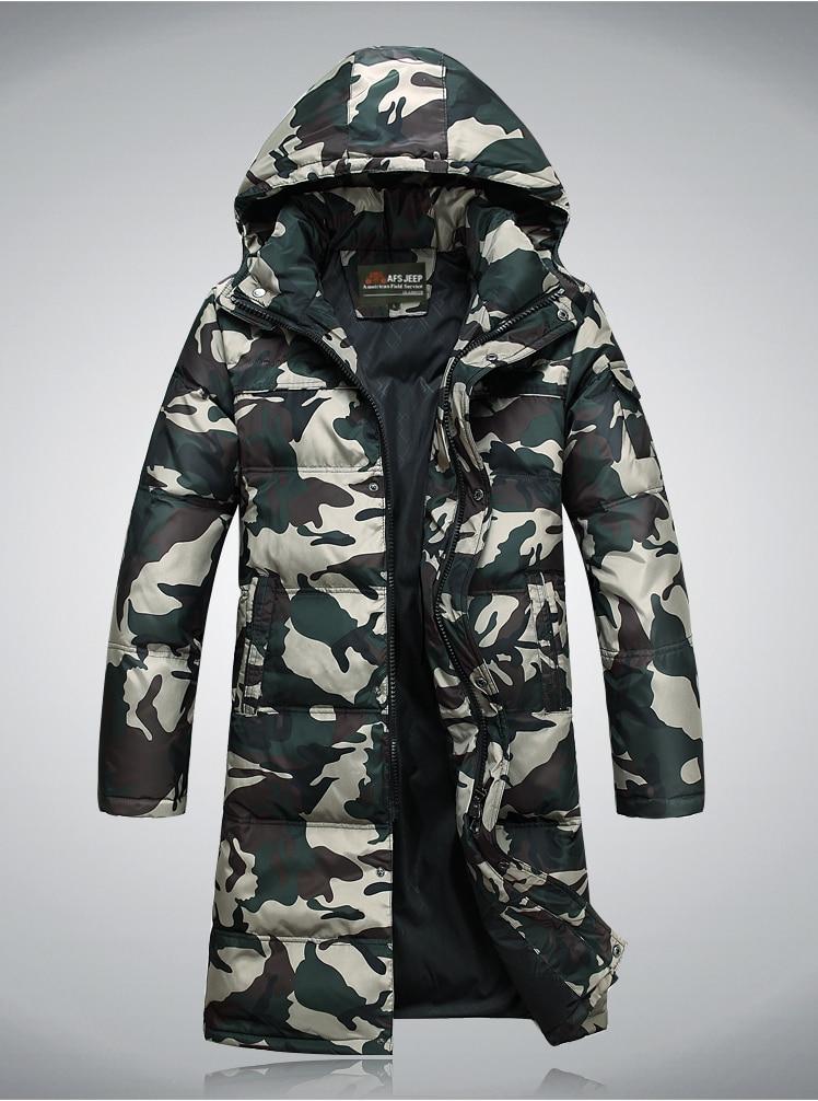2014 newest men's Jacket Military Winter -30 degrees Men Coats 90% White Duck X+Long Thicken Outwear Men's Parkas - Maris Ms's store